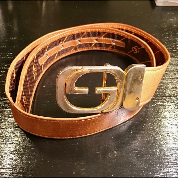 2af0f97fd69 Gucci Accessories - Vintage Gucci leather belt